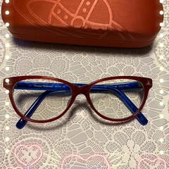 眼鏡 遠近両用眼鏡出来ましたぁ❤️ 青い方は息…