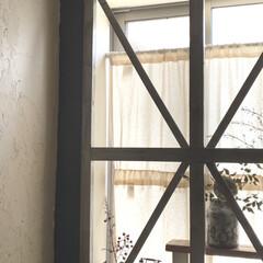 漆喰/窓/インスタグラムやっています/ブログ書いてます/うららかものづくりCafe/トイレ/... diyしたトイレの窓です。 カメラであま…