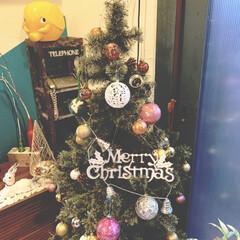 クリスマス2019/リミアの冬暮らし/100均/DIY/雑貨/住まい/... 12月になったので ツリーに飾り付けをし…