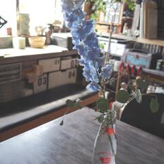 花/アンティーク風/リメイク/ペイント/アイデア投稿しました/インテリア/... テーブルをアンティーク風にリメイクする方…
