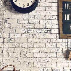 NEW GATE 50'sエレクトリックウォールクロック TR-4313(掛け時計、壁掛け時計)を使ったクチコミ「こんばんはー♪  明日から連休だからか、…」