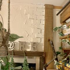 レンガ風/カフェ風インテリア/インスタグラムやってます/ブログ書いてます/うららかものづくりCafe/珪藻土/... こんばんはーー♪♪ 令和元年になりました…