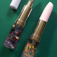 ボールペン/口紅タイプ/ハーバリウム ハーバリウムのボールペンです。 仕上げる…