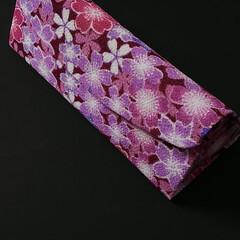さくらほりきり/メガネケース/ハンドメイド/フォロー大歓迎 「和紙工芸」の「さくらほりきり」さんのキ…