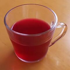 ジュース/飲み物/紫蘇ジュース 「紫蘇ジュース」を作りました。  2枚目…