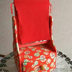 和紙工芸/さくらほり/姫鏡台/フォロー大歓迎/ハンドメイド 和紙工芸の「姫鏡台」です さ「さくらほり…