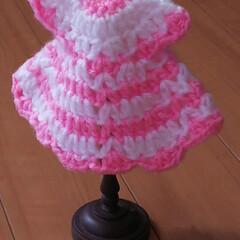 エコたわし/ハンドメイド/フォロー大歓迎 ドレス風のエコたわしを編みました。  何…