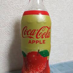 Apple/コカコーラ/朱色/冷たい飲み物選手権/フォロー大歓迎 コカコーラは久しぶり?の感じ(๑´ㅂ`๑…