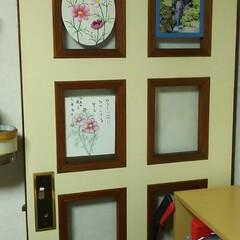 ドア/お気に入り/DIY/ハンドメイド/住まい/暮らし/... ほんと~にちっちゃな、ちっちゃな「ミニギ…