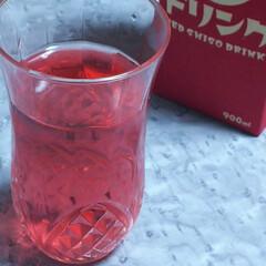 冴える味/ばあちゃんの赤しそ/赤しそドリンク 「赤しそドリンク」を買いました💛  昨年…(3枚目)