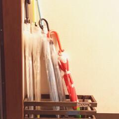 ダイソー/すのこ/傘立て ダイソーのすのことストックで置いてあった…