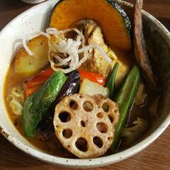 トッピング/食欲増進/北海道/外食/栄養満点/野菜たっぷり/... ■スープカレー  暑い日に食べても最高で…(1枚目)