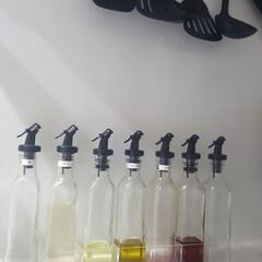 転倒防止/クリアケース/キッチン/調味料ボトル/オイルボトル/フランフランで買ったもの/... ■フランフラン  調味料ボトルを愛用中。…