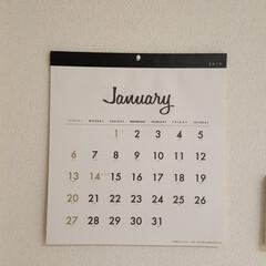 NITORI/壁掛け時計/給湯器のリモコン/発電モニター/インターホン/カレンダー/... ■セリア  来年のカレンダーを購入。 お…(2枚目)