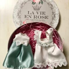 ミニチュア/リカちゃん/プレゼント/ハンドメイド リカちゃんの洋服♪ 私のお友達、娘の大好…