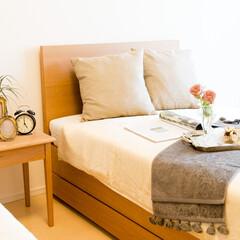 オーダー家具/シングルベット/エキストラベット/チェリー /無垢/寝室/... チェリーの無垢材で製作したシングルベッド…