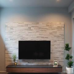 オーダー家具/モールテックス/MORTEX/ウォールナット/テレビボード モールテックスの天板とウォールナット材を…