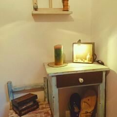 チェスト/机/椅子 /飾り棚/古家具/宝箱/...