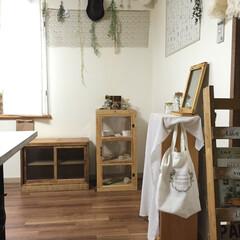 アンティーク棚/アンティーク家具/昭和の家具/食器棚 アンティーク棚が我が家に仲間入りしました…