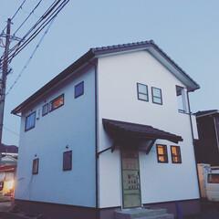 カルクウォール/塩見工務店/舞鶴市/木の家/自然素材 【いよいよ足場解体…。】  完成に向けて…