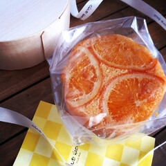 オレンジケーキ/焼き菓子/スイーツ/クラブハリエ/バームクーヘン 関西に住む友人から📦 大好きなCLUB …