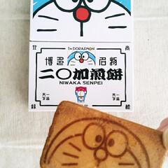 フード/グルメ/ドラえもん/福岡 博多名物 二○加煎餅 ドラえもんになった…