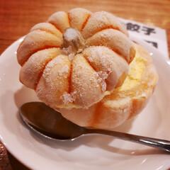 スイーツ/かぼちゃ/アイス/大阪王将/デザート/フード 大阪王将で餃子を食べたあとは、 まるごと…