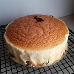 クリスマス/手作り/スイーツ/おやつ/スフレチーズケーキ/チーズケーキ/... りくろーおじさんのチーズケーキ 再現でき…