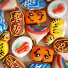 スイーツ/焼き菓子/福岡/博多/おみやげ/アイシングクッキー/... 博多土産の新定番はこれだ!! 「プティジ…