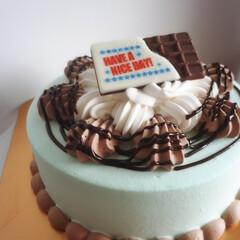 チョコミント/チョコレート/サーティワン/アイス/フード/スイーツ/... 夢のアイスクリームケーキ♥ まるごとチョ…(1枚目)