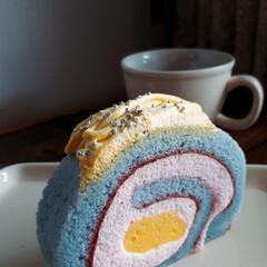 ロールケーキ/タリーズコーヒー/おでかけ/グルメ/フード/スイーツ/... TULLY'S ☕でひと休み♥ 春の新作…