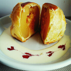 りんご/アップルパイ 職場の先輩から、 青森土産にいただいた …
