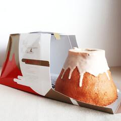 おみやげ/バームクーヘン/焼き菓子/スイーツ/至福のひととき/おやつタイム/... 富士山🗻 Premium頂上Baum【苺…(1枚目)