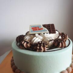 チョコミント/チョコレート/サーティワン/アイス/フード/スイーツ/... 夢のアイスクリームケーキ♥ まるごとチョ…(2枚目)