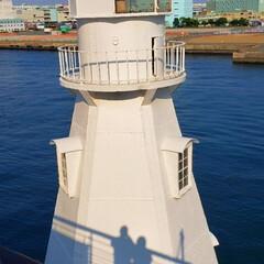 山下公園/横浜/氷川丸/海辺/灯台/おでかけ/... 彼と横浜に出かけ、山下公園にある氷川丸に…(1枚目)