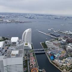 展望台/横浜/おでかけ 秋の連休は横浜へ。初めてランドマークタワ…(1枚目)