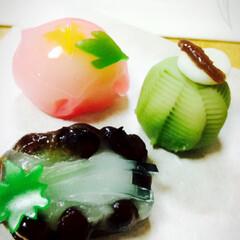 まめや/御菓子/生菓子/和菓子/手作り/ハンドメイド/... やっぱりまめやさんがいいですね。おいしい…