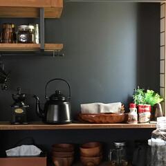 カフェ/DIY/雑貨/インテリア/住まい/キッチン カフェアイテム揃ってきました^_^ そろ…(1枚目)