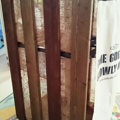 すのこDIY/ワンバイフォー/100均/セリア/ダイソー/節約/... 増えてきたオモチャ収納。木材をケチったら…