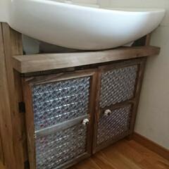 北欧インテリア ノーマルな洗面台dry♪。.:*・゜して…