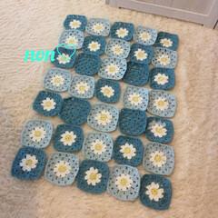 手芸/趣味/趣味を楽しむ/crocheting/crochet/kinting/... モチーフ35枚編み終わりました。これから…
