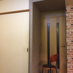 nre-2571/コンクリート柄/壁紙/サンゲツ/ブルックリン/DIY ブルックリン計画。 コンクリート柄壁紙を…