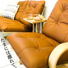 ソファ/リビング/座り心地/寝る/映画/サイドテーブル/... 『たまには離れて』という便利さ 横になる…