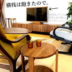 横桟/縦桟/デザイン/テレビ台/テレビボード/ウォールナット/... 『横桟は飽きたよね』って家具屋だから思う…