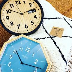 時計/ラグ/雑貨/小物/インテリア/福井県/... 新しく入荷したラグと時計。 どちらも私好…