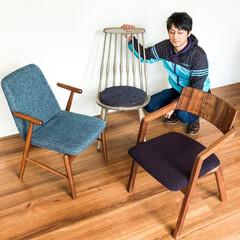 椅子/チェア/ダイニングチェア/小泉誠/カリモク/アンシャンテタナカ/... 昨日はたくさんのお客様にご来店いただきま…