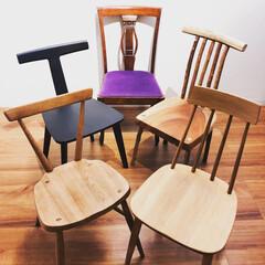 椅子/チェア/デザイン/座り心地/インテリア/コーディネート/... 背もたれコーディネート(o^^o)笑 1…