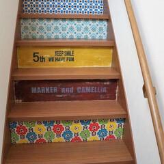「階段の蹴り上げ部分に、厚さ2.5ミリの薄…」(1枚目)