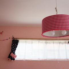 照明器具/ペンダントライト/ニトリ/リメイク/シェード/子供部屋/... これは、インダストリアルて統一した我が家…