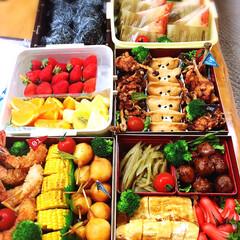 子供/運動会お弁当/ランチ 今年の小学校の運動会のお弁当です。 去年…